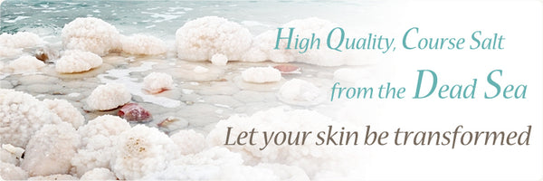 Let your skin be transformed with a sea salt exfoliation scrub