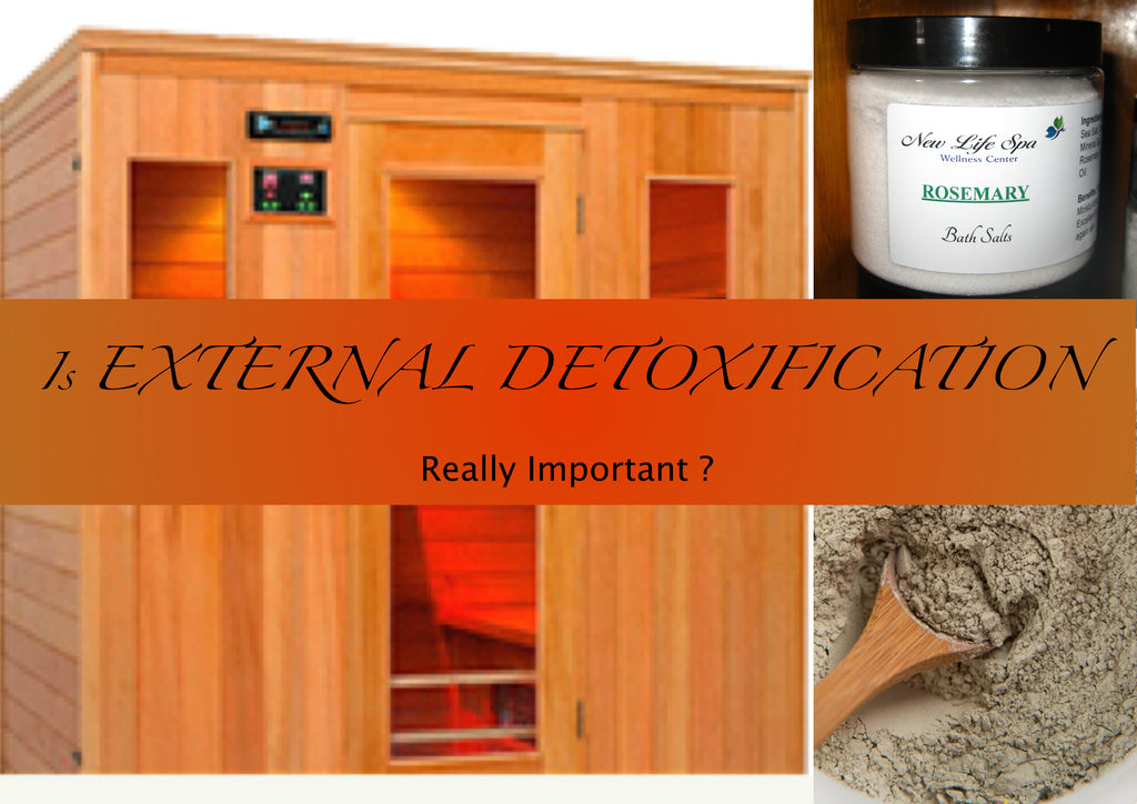 SAUNA-BENTONITE CLAY-BATH SALTS, A detox program has to address both internal and external toxins. Get your health back!