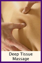 Benefits of a Deep Tissue Massage for health & healing