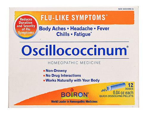 Boiron Oscillococcinum Homeopathic for Flu-like Symptoms