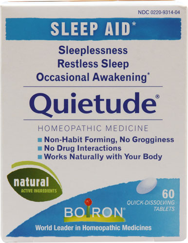 Boiron Quietude Sleep Aid Homeopathic