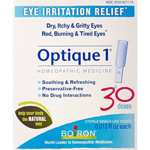 Boiron Optique1 - Eye Irritation Relief, 30 doses