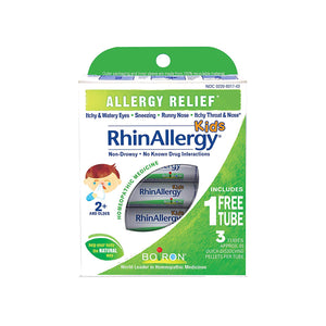Boiron RhinAllergy KID'S Homeopathic 3 tubes