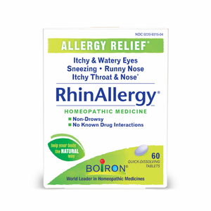 Boiron RhinAllergy Homeopathic 60 tablets