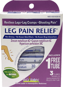 Boiron Leg Pain Relief Homeopathic 3 tubes