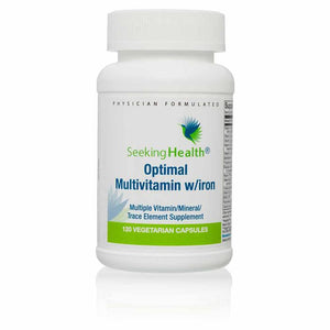 Optimal Multivitamin with Iron - 120 Capsules