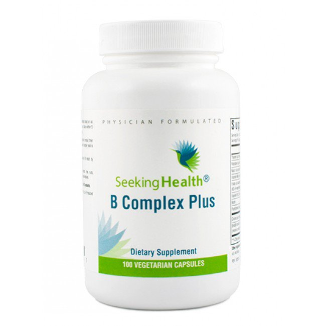 B Complex Plus Supplement by SeekingHealth 100 capsules