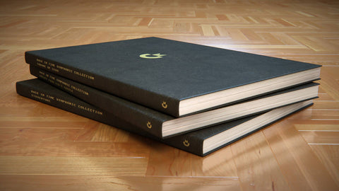 Symphony 64 Leather Bound Score Book Set (Pre-order)