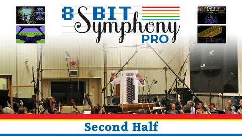 8-Bit Symphony Pro: Second Half Surround-sound Blu-ray (Pre-order)