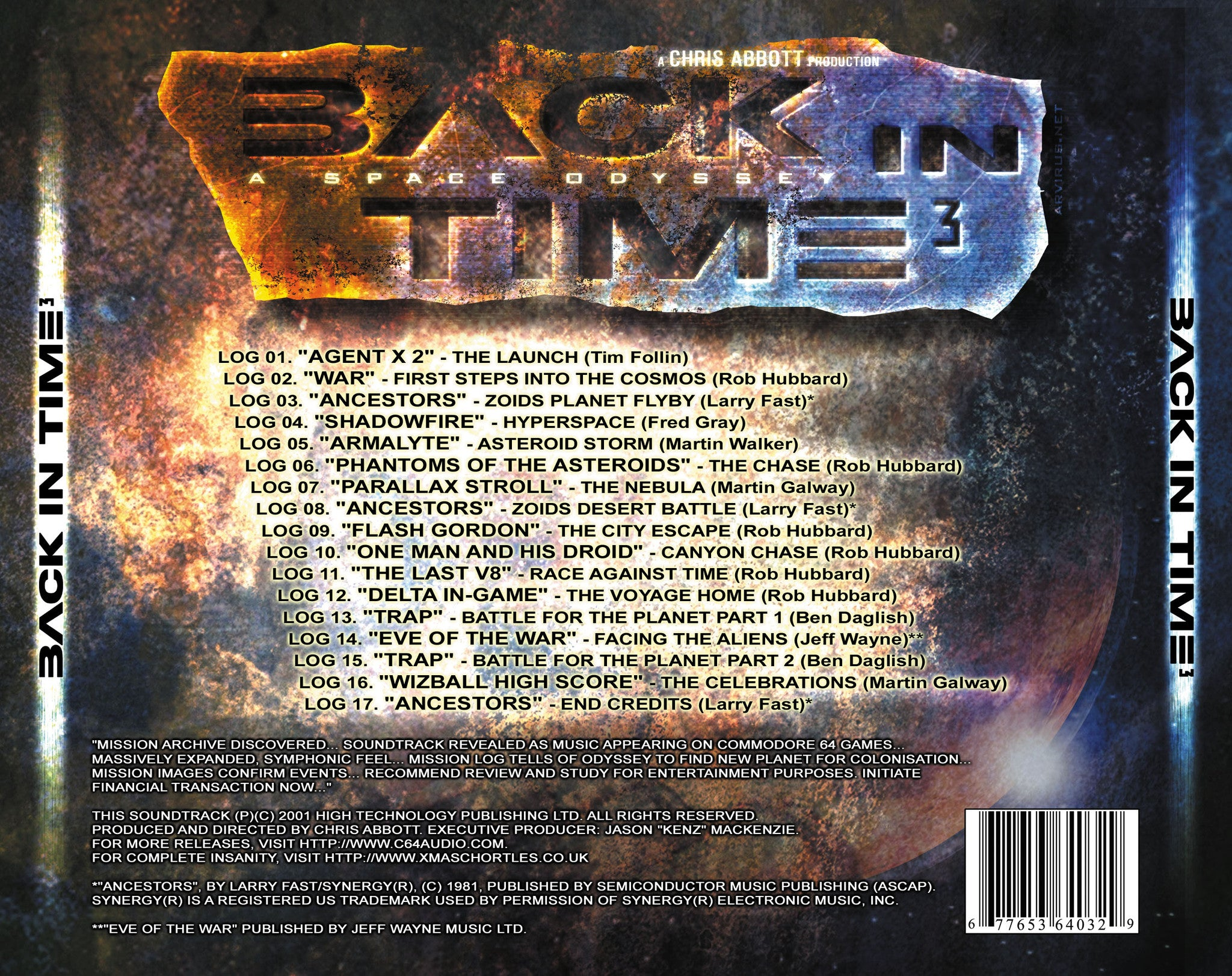 Back in Time 3 - a Space Odyssey – C64Audio