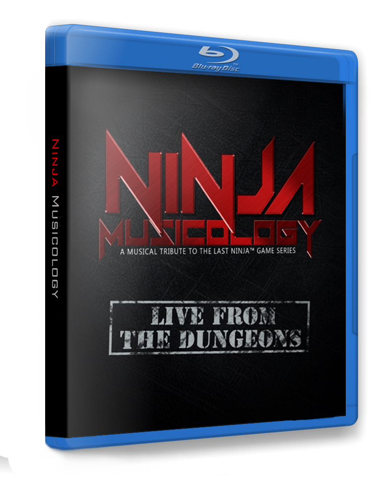 Ninja Musicology Live - Pre-order Blu-Ray/Digital Video Download - C64Audio - 1