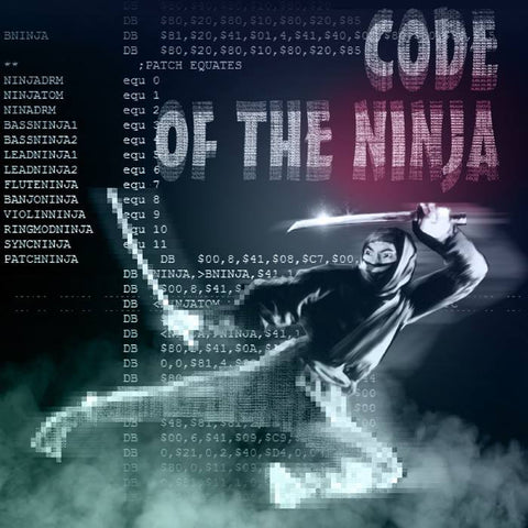 Code of the Ninja Double Album (signed by Ben Daglish and Matt Gray)