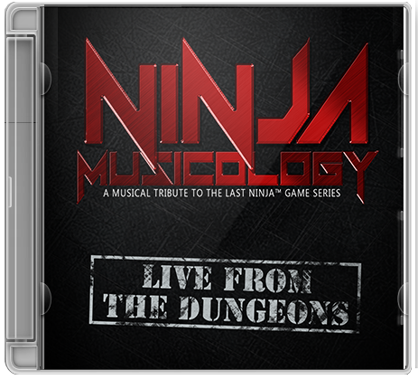 Ninja Musicology Live - Limited, Numbered Live CD Set (pre-order) - C64Audio
