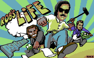 Rob's Life - C64 Game Cartridge/USB Wafer