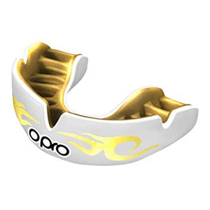 OPRO POWERFIT BLING WHITE/GOLD