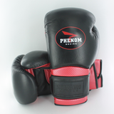 PHENOM STEALTH SG-10 SPAR GLOVES BLACK/RED