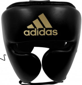 ADIDAS ADISTAR PRO HEAD GUARD BLACK/GOLD