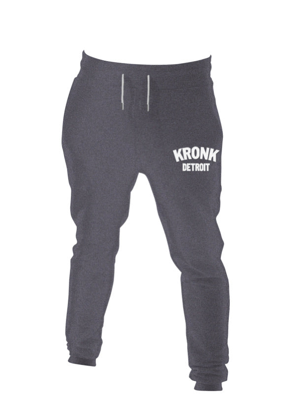 KRONK DETROIT JOGGERS REGULAR FIT CHARCOAL