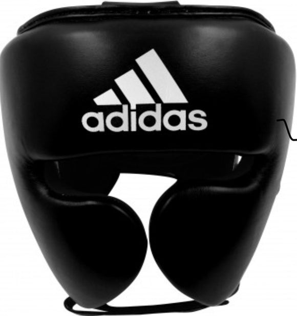 ADIDAS ADISTAR PRO HEAD GUARD BLACK/WHITE