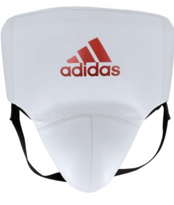 ADIDAS ADISTAR GROIN GUARD WHITE/RED