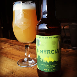 MYRCIA - ALC 4% VOL - Oatmeal Hopburst Session IPA. 12x330ml Bottle Case.