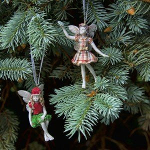 Santa's Little Fairy Ornaments (Set of 2 Assorted)