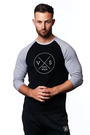 3/4 Sleeve T-shirt - VXS GYM WEAR