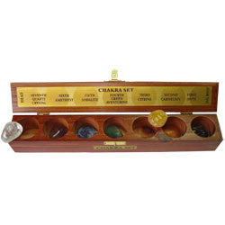 GEMSTONES CHAKRA BOX WITH 7 HOLES