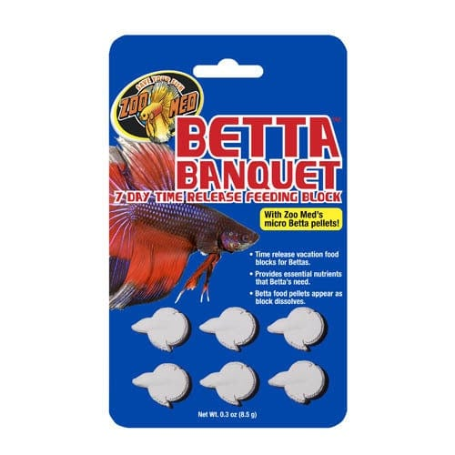 Zoo Med Betta Banquet Block 6pcs