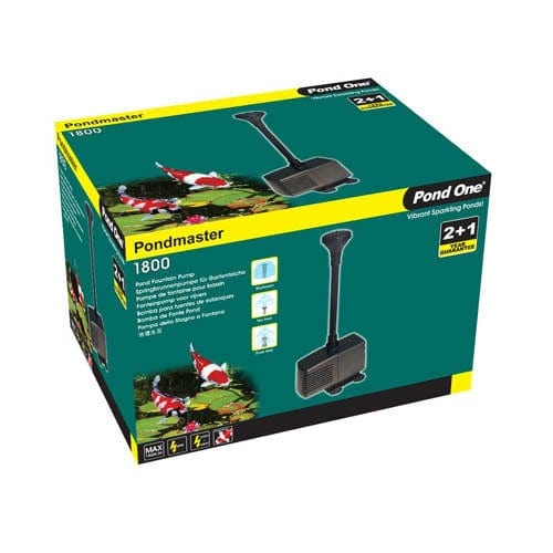 Pond One Pondmaster 1800 Fountain Pump