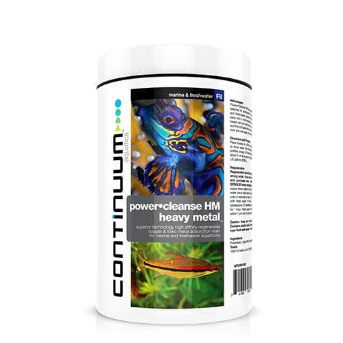 Continuum Aquatics Power Cleanse HM Heavy Metal 250ml