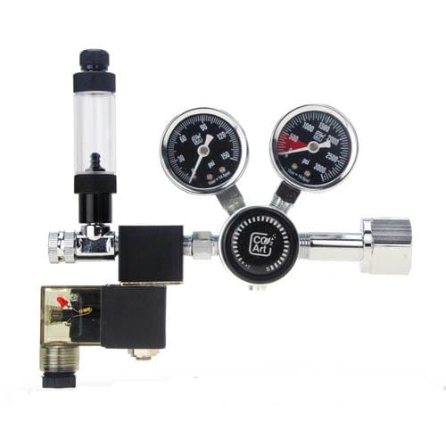 CO2Art Pro SE - CO2 Dual Stage Regulator with Solenoid -1