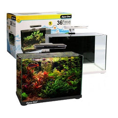 Aqua One Focus 36 LED Glass Aquarium Black