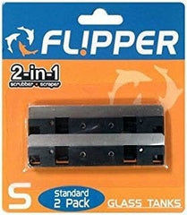 Flipper Cleaner Replacement Blade Stainless Steel - Standard 2pk