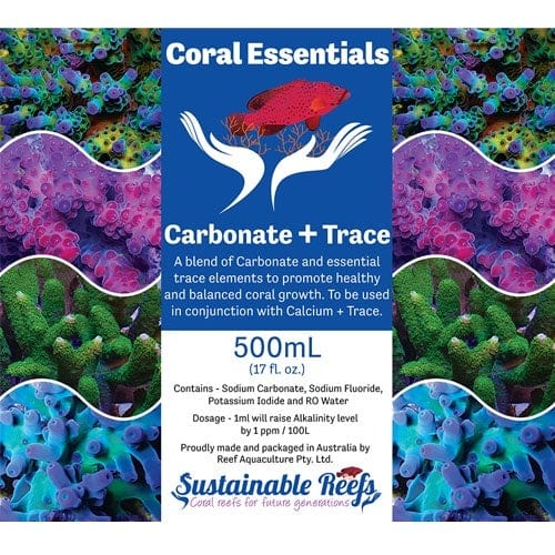 Coral Essentials Part B - Carbonate + Trace C 500ml