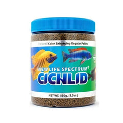 New Life Spectrum Cichlid Regular Sinking 1.0-1.5mm 150g