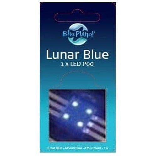 Blue Planet LED Pod -  Lunar Blue