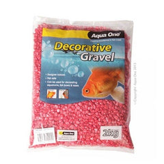 Aqua One Gravel Metallic Red 2kg