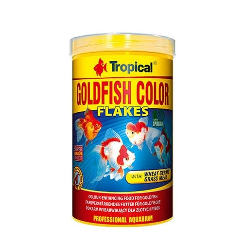 Tropical Goldfish Color Flakes 1000ml 200g