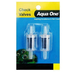 Aqua One Air Line Check Valve Carded 2pk