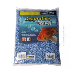 Aqua One Gravel Metallic Blue 2kg