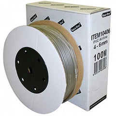 Aqua One Air Line Soft Tubing 100m Smoke Colour