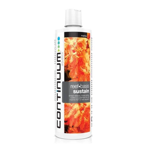 Continuum Aquatics Reef Basis Sustain Iodine 250ml