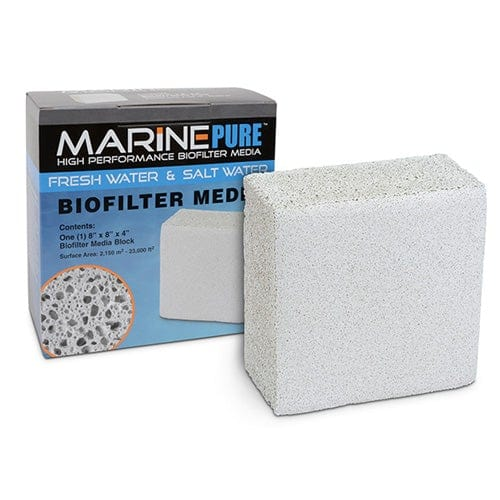 "CerMedia Marine Pure Bio Filter Media 8x8x4"" Block"