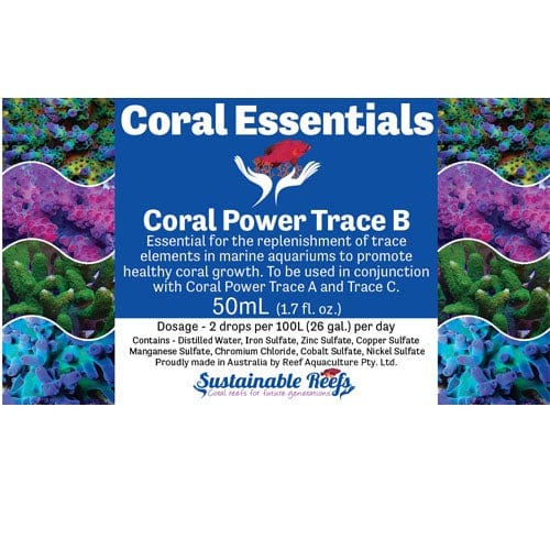 Coral Essentials - Coral Power Trace B 50ml