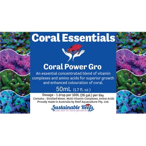 Coral Essentials - Coral Power Gro 50ml