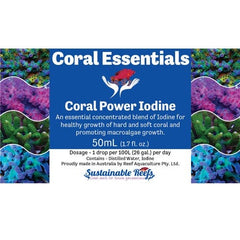 Coral Essentials - Coral Power Iodine 50ml