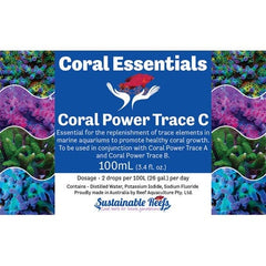 Coral Essentials - Coral Power Trace C 100ml