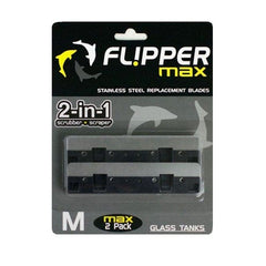 Flipper Cleaner Max Replacement Blade Stainless Steel 2pk