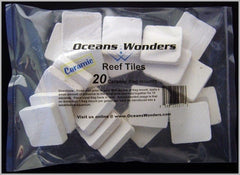 Ocean Wonders Frag Tile Ceramic coral propagation coral fragging